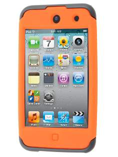 iPod Touch 4G Impact Case - Orange/Classic Black