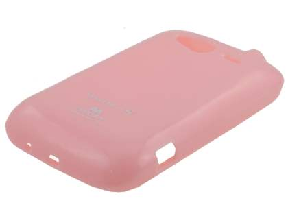 Mercury Glossy Gel Case for HTC Wildfire S - Baby Pink