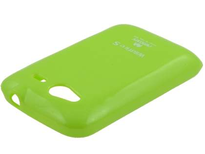 Mercury Glossy Gel Case for HTC Wildfire S - Lime Green