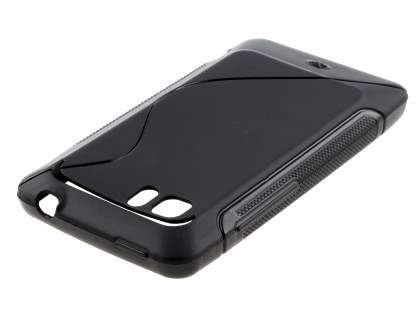 HTC Velocity 4G Wave Case - Frosted Black/Black