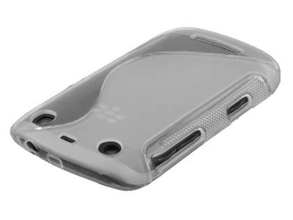 BlackBerry Curve 9360 Wave Case - Clear/Frosted Clear