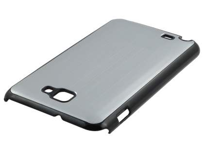 Samsung I9220 Galaxy Note Brushed Aluminium Case  - Silver