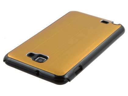 Samsung I9220 Galaxy Note Brushed Aluminium Case - Gold