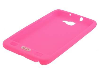 Samsung  I9220 Galaxy Note Silicone Rubber Case - Hot Pink