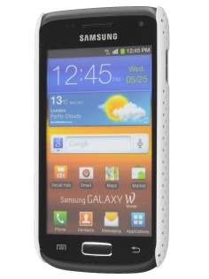 Samsung Galaxy W I8150  Slim Mesh Case - White