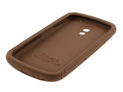 Xmart Silicone Case for Samsung Galaxy Nexus I9250 - Brown