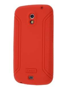 Xmart Silicone Case for Samsung Galaxy Nexus I9250 - Scarlet Red