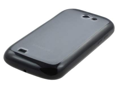 Dual-Design Case for Samsung Galaxy W I8150 - Black/Grey