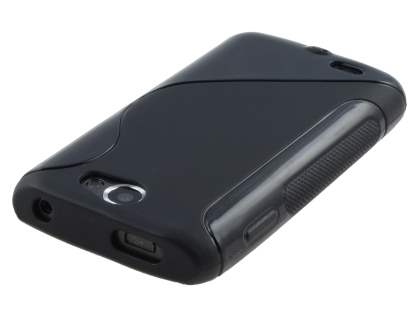 Samsung Galaxy W I8150 Wave Case - Black