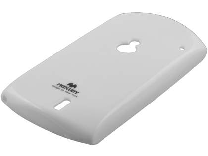 Mercury Glossy Gel Case for Sony Ericsson Xperia neo MT15i - Pearl White