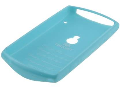 Mercury Glossy Gel Case for Sony Ericsson Xperia neo MT15i - Sky Blue