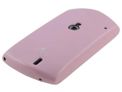 Mercury Glossy Gel Case for Sony Ericsson Xperia neo MT15i - Baby Pink