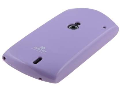 Mercury Glossy Gel Case for Sony Ericsson Xperia neo MT15i - Light Purple