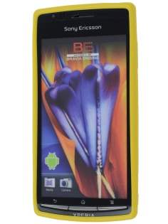 Mercury Glossy Gel Case for Sony Ericsson XPERIA Arc/Arc S - Canary Yellow