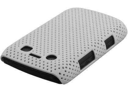 BlackBerry Bold 9700/9780 Slim Mesh Case - White