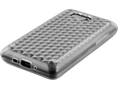 HTC Aria Diamond Gel Case - Clear