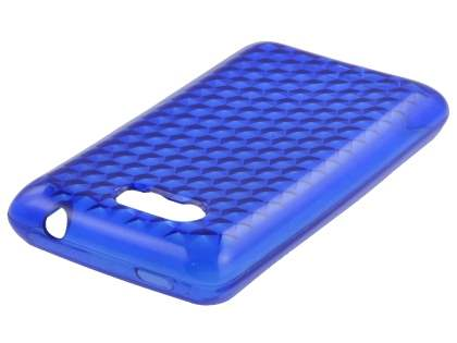 HTC Aria Diamond Gel Case - Ocean Blue