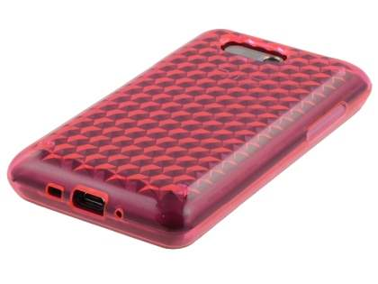 Diamond Gel Case for HTC Aria - Pink
