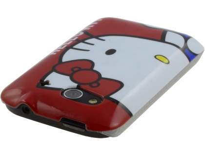 HTC Wildfire S Hello Kitty Back Case - Red/White
