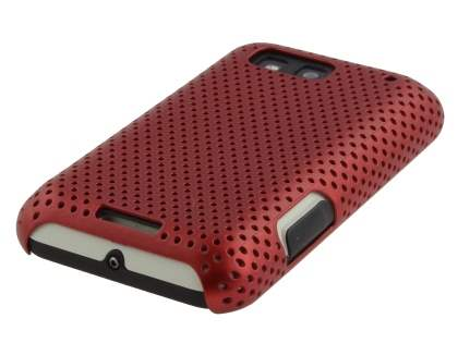 Motorola DEFY ME525 Slim Mesh Case - Red