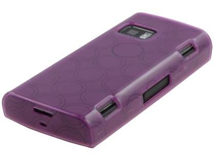 TPU Gel Case for Nokia X6 - Purple