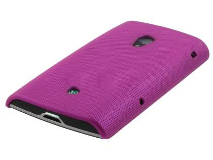 Sony Ericsson xperia x10 Dream Mesh Case - Hot Pink