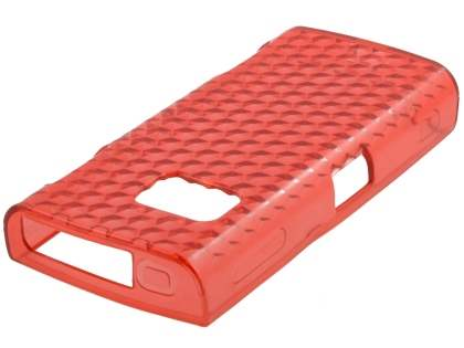 TPU Gel Case for Nokia X6 - Diamond Red