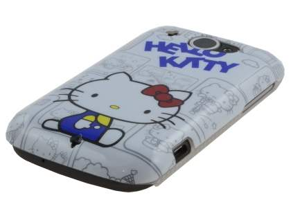 Hello Kitty Back Case for HTC Wildfire G8 - White