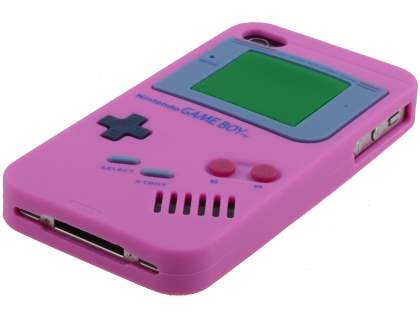 Nintendo Game Boy-style case for iPhone 4S/4 - Pink
