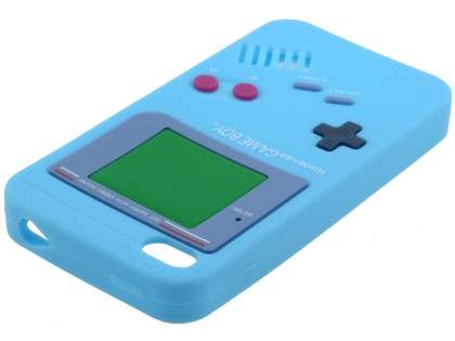 Nintendo Game Boy-style case for iPhone 4S/4 - Sky Blue