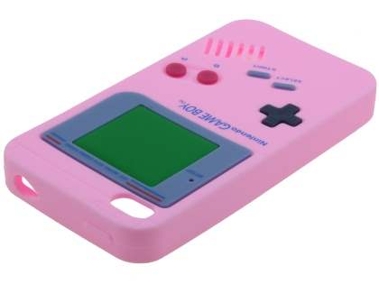 Nintendo Game Boy-style case for iPhone 4S/4 - Baby Pink
