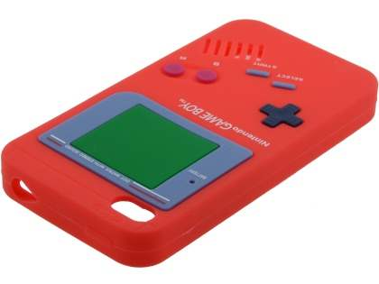 Nintendo Game Boy-style case for iPhone 4S/4 - Red