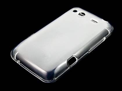 Salsa Frosted TPU Case plus Screen Protector - Frosted Clear