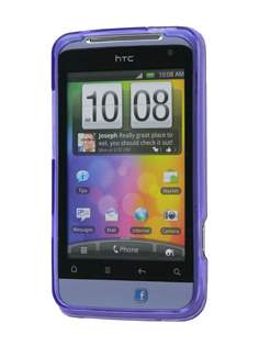 Salsa Frosted TPU Case plus Screen Protector - Frosted Purple