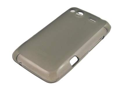 Salsa Frosted TPU Case plus Screen Protector - Frosted Grey