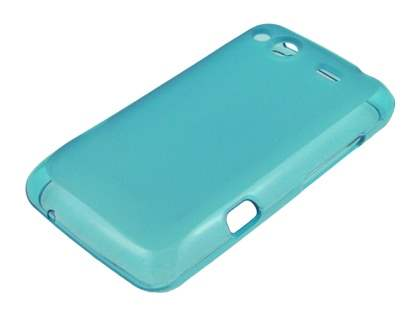Salsa Frosted TPU Case plus Screen Protector - Frosted Sky Blue