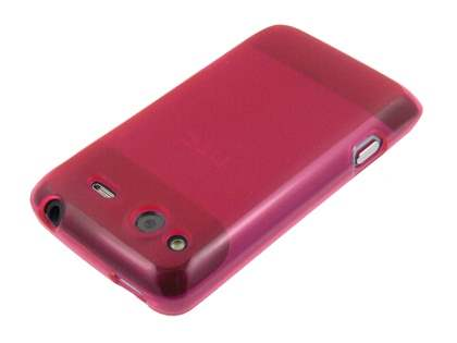 Salsa Frosted TPU Case plus Screen Protector - Frosted Red