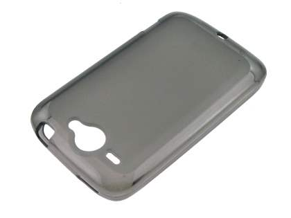 TPU Case for HTC Wildfire G8 - Frosted Grey