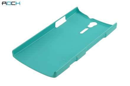 ROCK Nakedshell Glossy Colour Case for Sony Xperia S LT26i - Jungle Green