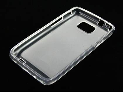 Frosted TPU Case for Samsung I9100 Galaxy S2 - Frosted Clear