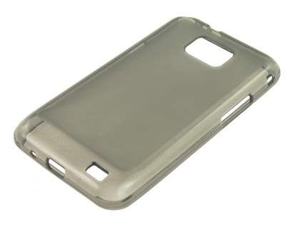 Frosted TPU Case for Samsung I9100 Galaxy S2 - Frosted Grey