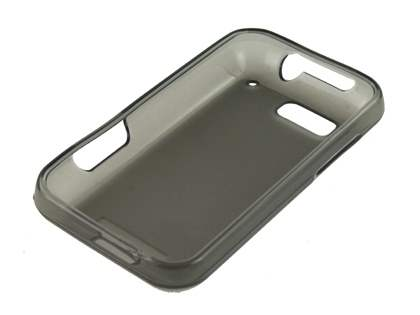 Frosted TPU Case for Motorola DEFY - Frosted Grey