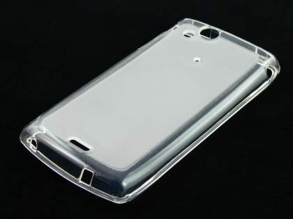 TPU Case for Sony Ericsson XPERIA Arc/Arc S - Frosted Clear