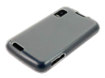Frosted TPU Case for Motorola ATRIX  - Frosted Clear