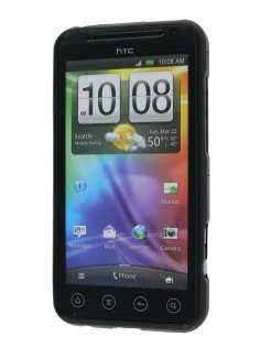 TPU Case  for HTC EVO 3D - Classic Black