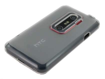 TPU Case  for HTC EVO 3D - Frosted Clear