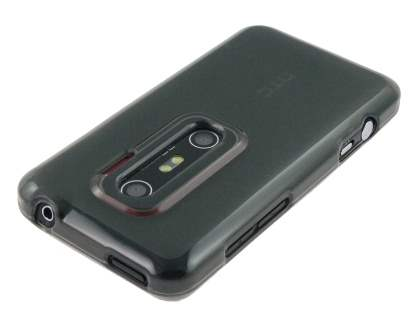 TPU Case  for HTC EVO 3D - Frosted Grey