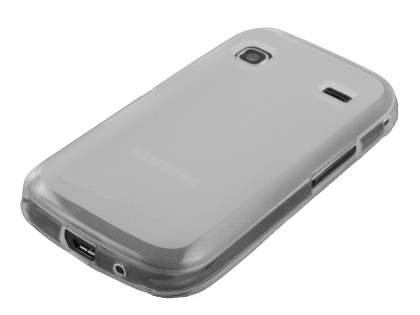 Frosted TPU Case for Samsung Galaxy Gio S5660 - Frosted Clear