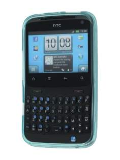 Frosted TPU Case for HTC ChaCha  - Frosted Light Blue
