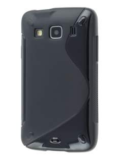 Samsung Galaxy Xcover S5690 Wave Case - Classic Black Soft Cover
